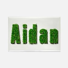 Aidan Grass Rectangle Magnet