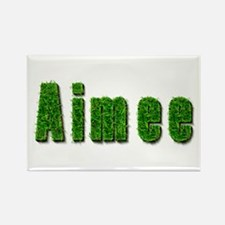Aimee Grass Rectangle Magnet