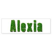 Alexia Grass Bumper Car Sticker