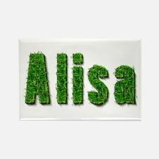 Alisa Grass Rectangle Magnet