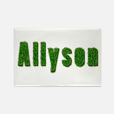 Allyson Grass Rectangle Magnet