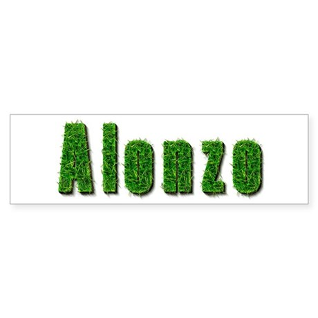 Alonzo Grass Bumper Sticker
