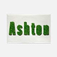 Ashton Grass Rectangle Magnet