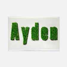 Ayden Grass Rectangle Magnet