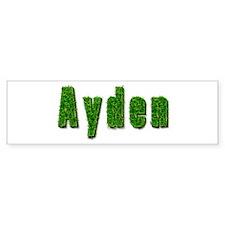 Ayden Grass Bumper Bumper Sticker