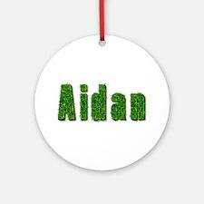 Aidan Grass Round Ornament