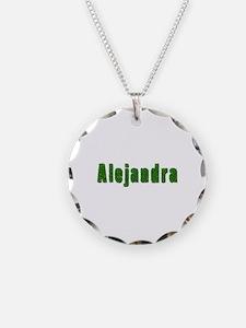 Alejandra Grass Necklace