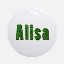 Alisa Grass Round Ornament