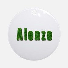 Alonzo Grass Round Ornament