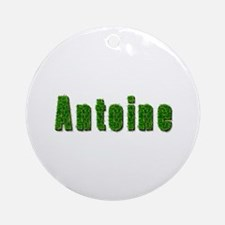 Antoine Grass Round Ornament