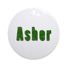 Asher Grass Round Ornament