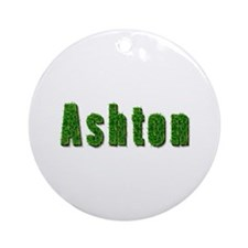 Ashton Grass Round Ornament