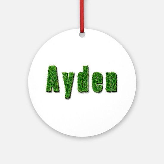 Ayden Grass Round Ornament