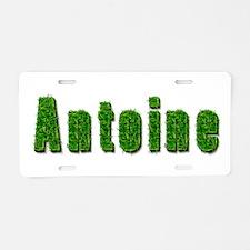 Antoine Grass Aluminum License Plate