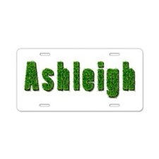 Ashleigh Grass Aluminum License Plate