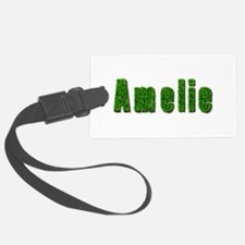 Amelie Grass Luggage Tag