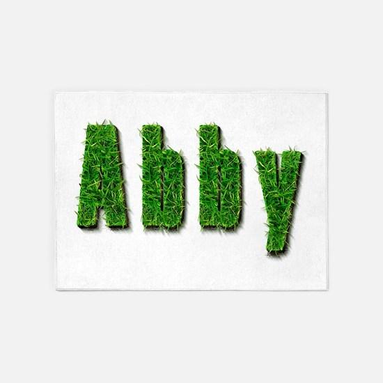 Abby Grass 5'x7' Area Rug