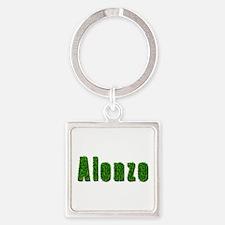 Alonzo Grass Square Keychain
