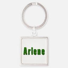 Arlene Grass Square Keychain