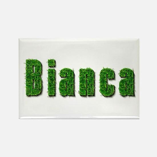 Bianca Grass Rectangle Magnet