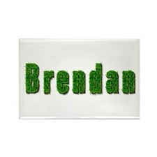 Brendan Grass Rectangle Magnet
