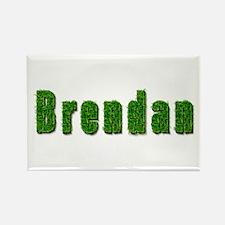 Brendan Grass Rectangle Magnet