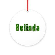 Belinda Grass Round Ornament