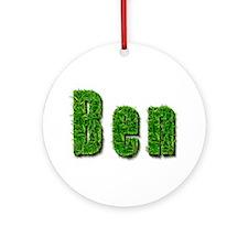 Ben Grass Round Ornament