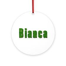 Bianca Grass Round Ornament