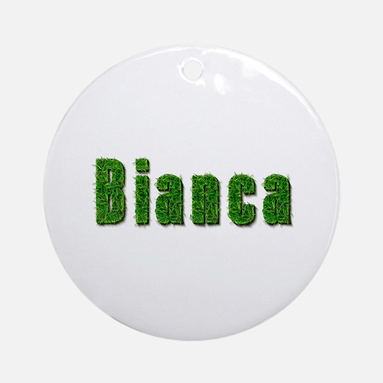Bianca Grass Round Ornament