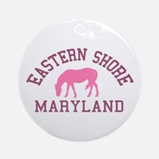 Eastern Shore MD - Ponies Design. Ornament (Round)