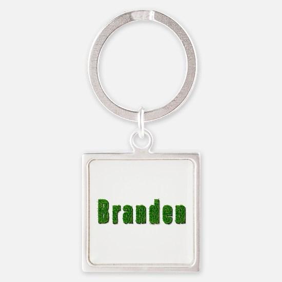 Branden Grass Square Keychain