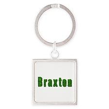 Braxton Grass Square Keychain