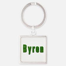Byron Grass Square Keychain