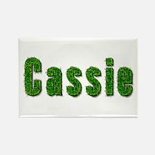Cassie Grass Rectangle Magnet