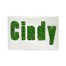 Cindy Grass Rectangle Magnet