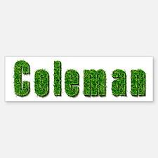 Coleman Grass Bumper Bumper Bumper Sticker