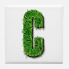 C Grass Tile Coaster