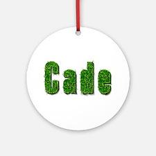 Cade Grass Round Ornament