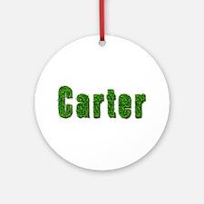 Carter Grass Round Ornament