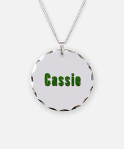 Cassie Grass Necklace