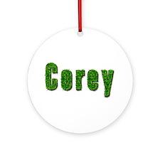 Corey Grass Round Ornament