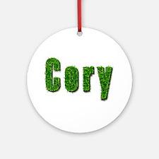 Cory Grass Round Ornament