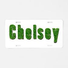 Chelsey Grass Aluminum License Plate