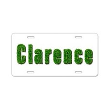 Clarence Grass Aluminum License Plate
