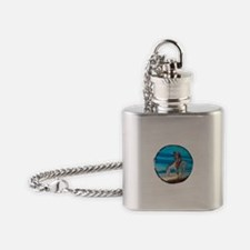 Cute American indian Flask Necklace