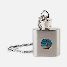 Cute Ethnicity Flask Necklace
