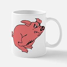 Running Pig Mug