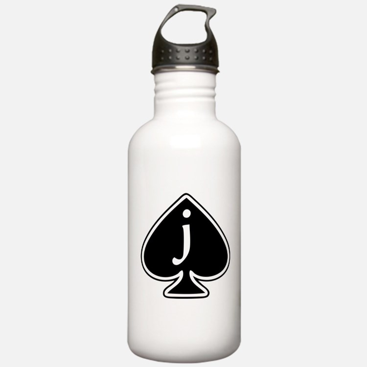Jack Of Spades Water Bottle