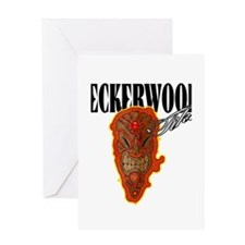 PECKERWOOD TIKIS Greeting Card
